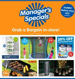 Supermarkets offers in the B&M Stores catalogue in Cannock