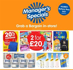 Supermarkets offers in the B&M Stores catalogue in Hammersmith