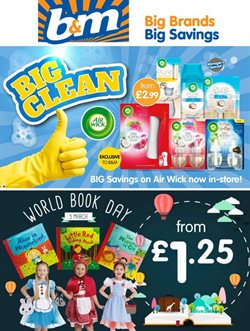 B&M Stores catalogue ( 3 days left )