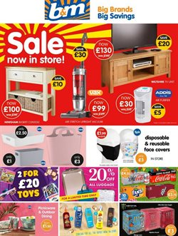 B&M Stores catalogue in Leeds ( Expires tomorrow )