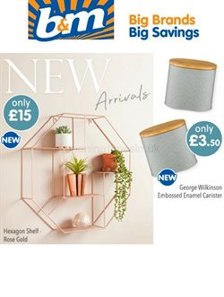 B&M Stores catalogue ( 3 days ago )