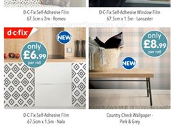 Offers of Wallpaper in B&M Stores
