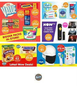 Offers of Games in B&M Stores
