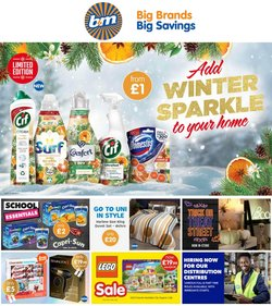 Supermarkets offers in the B&M Stores catalogue ( Expires today)
