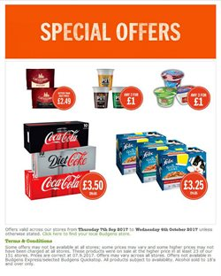 Budgens offers in the London catalogue