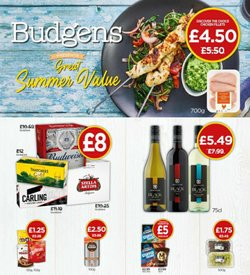 Budgens offers in the Budgens catalogue ( 19 days left)