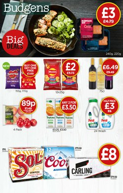 Budgens offers in the Budgens catalogue ( 8 days left)