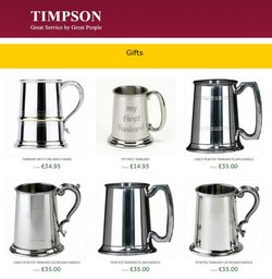 Home & Furniture offers in the Timpson catalogue ( Expires today )