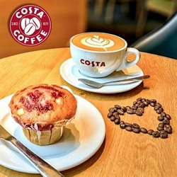 Restaurants offers in the Costa Coffee catalogue in London