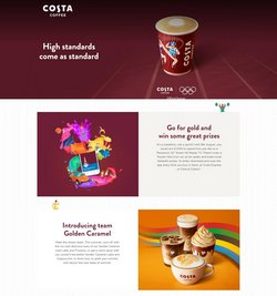 Costa Coffee catalogue ( Published today)