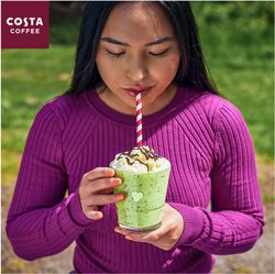 Restaurants offers in the Costa Coffee catalogue ( Expires tomorrow)