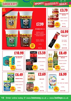 Oil offers in the Batleys catalogue in Liverpool