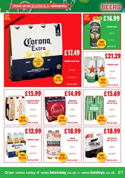 Lager offers in the Batleys catalogue in London