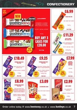 Chocolate offers in the Batleys catalogue in Bridgend