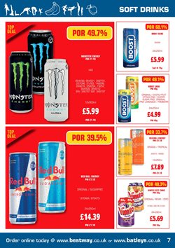 Monster offers in the Batleys catalogue in London