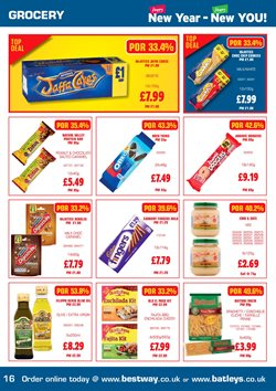 Pasta offers in the Batleys catalogue in Liverpool