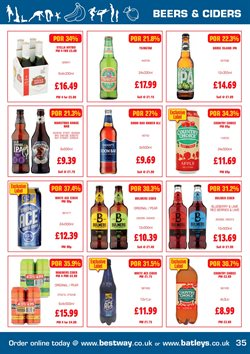 Cider offers in the Batleys catalogue in London