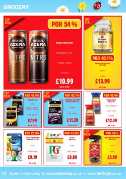 Coffee offers in the Batleys catalogue in London