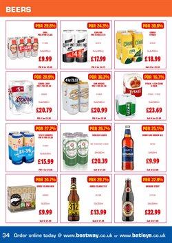 Beer offers in the Batleys catalogue in Runcorn