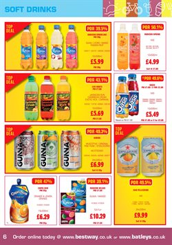 Carnival offers in the Batleys catalogue in London