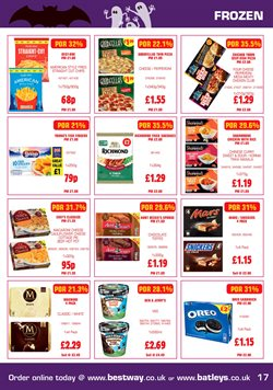 Pizza offers in the Batleys catalogue in Widnes
