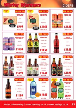 Ace offers in the Batleys catalogue in London
