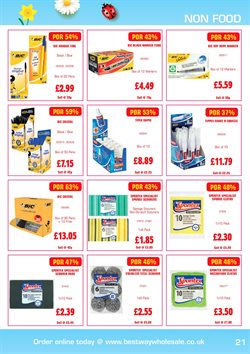 Pens offers in the Batleys catalogue in London