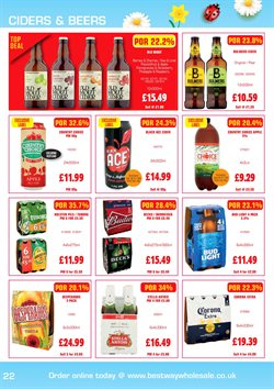 Ace offers in the Batleys catalogue in Birkenhead