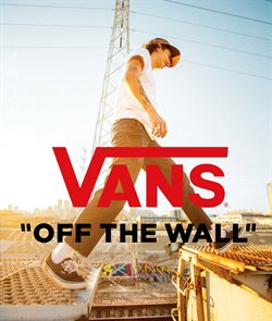 Clothes, Shoes & Accessories offers in the VANS catalogue in Swansea ( 2 days ago )