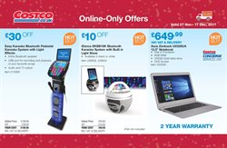 ASUS offers in the Costco catalogue in London