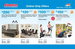 Chairs offers in the Costco catalogue in London