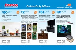 Coffee offers in the Costco catalogue in London
