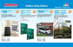 Software offers in the Costco catalogue in London