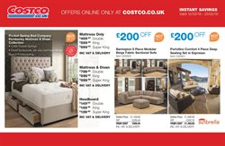 Sofa offers in the Costco catalogue in Hammersmith