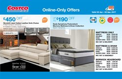Bed offers in the Costco catalogue in London