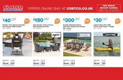 Sofa offers in the Costco catalogue in London