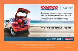 Car hire offers in the Costco catalogue in London