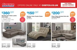 Sofa offers in the Costco catalogue in Aberdeen