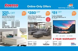 TV offers in the Costco catalogue in London