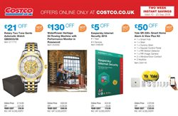 Baby offers in the Costco catalogue in London