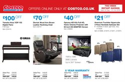 Suitcase offers in the Costco catalogue in London