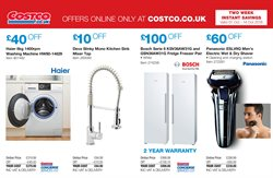 Washing machine offers in the Costco catalogue in Royal Leamington Spa