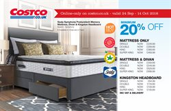Bed offers in the Costco catalogue in Reading