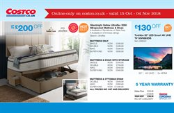 Furniture offers in the Costco catalogue in London
