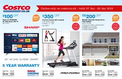 Doors offers in the Costco catalogue in London