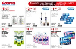 Electric toothbrush offers in the Costco catalogue in London