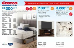 Bed offers in the Costco catalogue in Glasgow