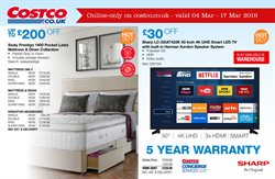 Bed offers in the Costco catalogue in Basingstoke