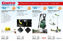 Laminate flooring offers in the Costco catalogue in Watford