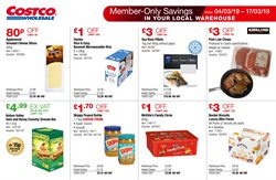 Cheese offers in the Costco catalogue in Wallasey
